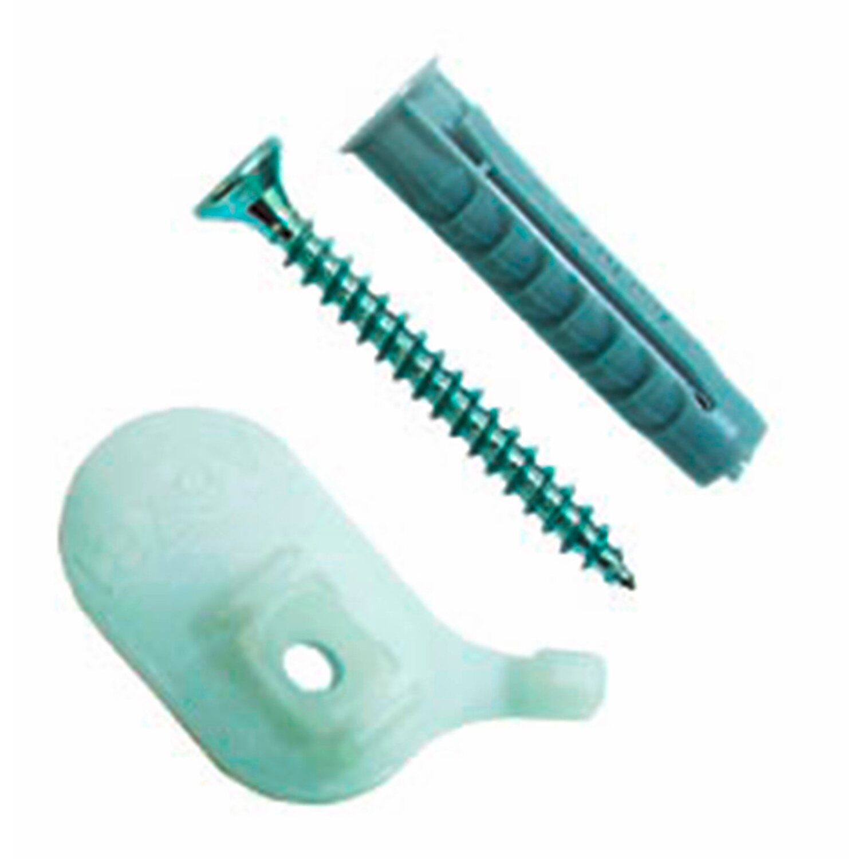 Gardinia Deckenträger Für Aluminium Vorhangschiene 1 Läufig Weiß 2