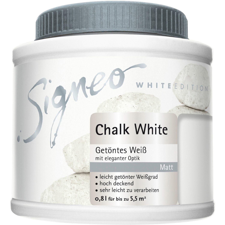 signeo white edition chalk white 800 ml kaufen bei obi. Black Bedroom Furniture Sets. Home Design Ideas
