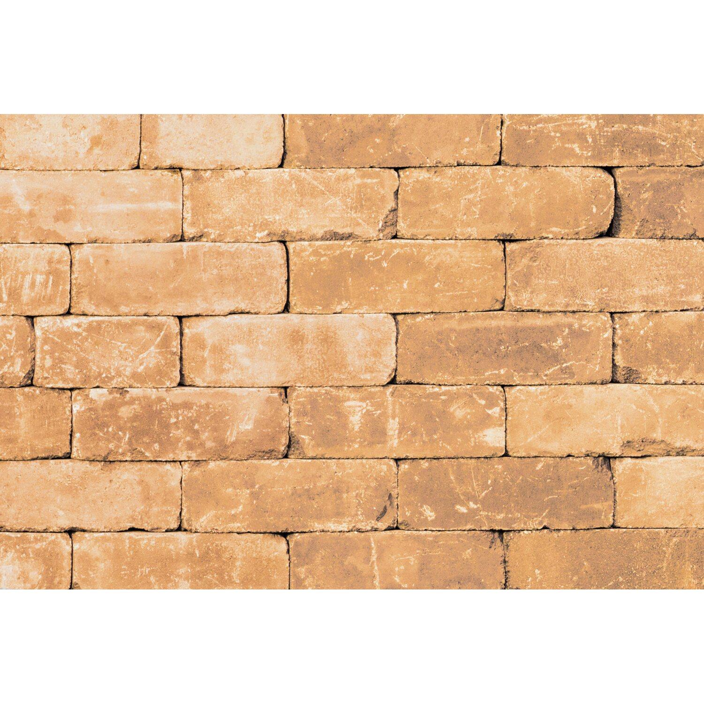 Antik Mauerstein Ziegeloptik Sandstein 28 cm x 21 x 7 cm kaufen ...