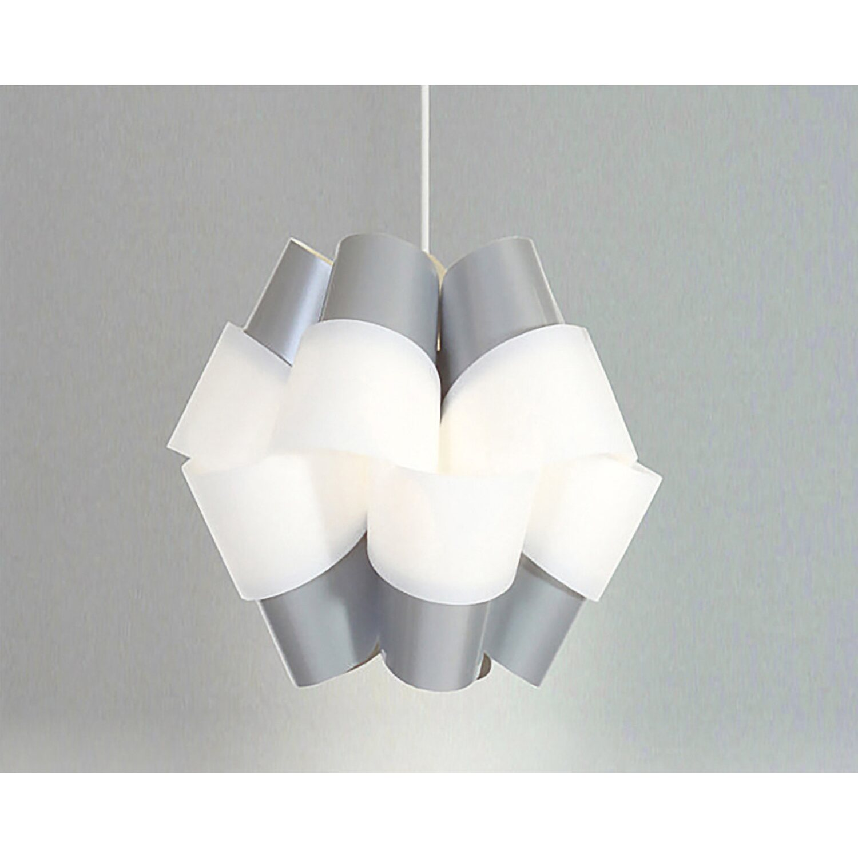 Pendelleuchte Bouquet 110 Grau-Weiß EEK: E-A++ | Lampen > Deckenleuchten > Pendelleuchten | Kayoom