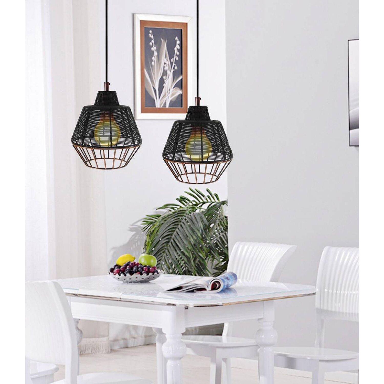 pendelleuchte libertas small schwarz kupfer eek e a kaufen bei obi. Black Bedroom Furniture Sets. Home Design Ideas