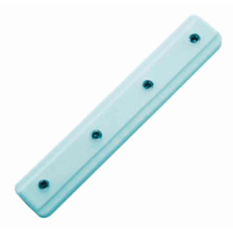 Gardinia Schienenverbinder für Aluminium-Vorhangschiene 2-läufig Weiß