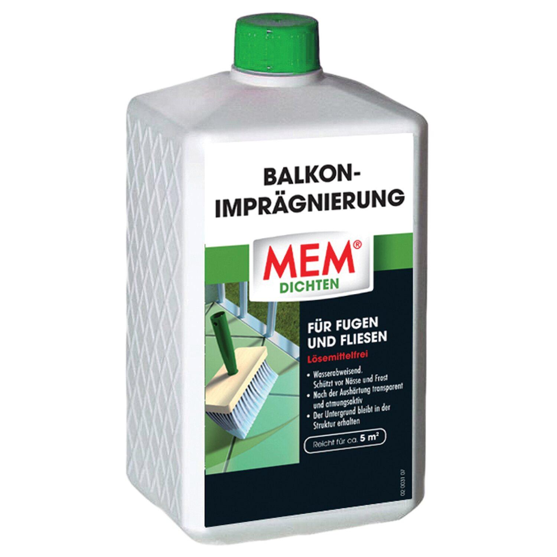 MEM Balkon-Imprägnierung 1 l