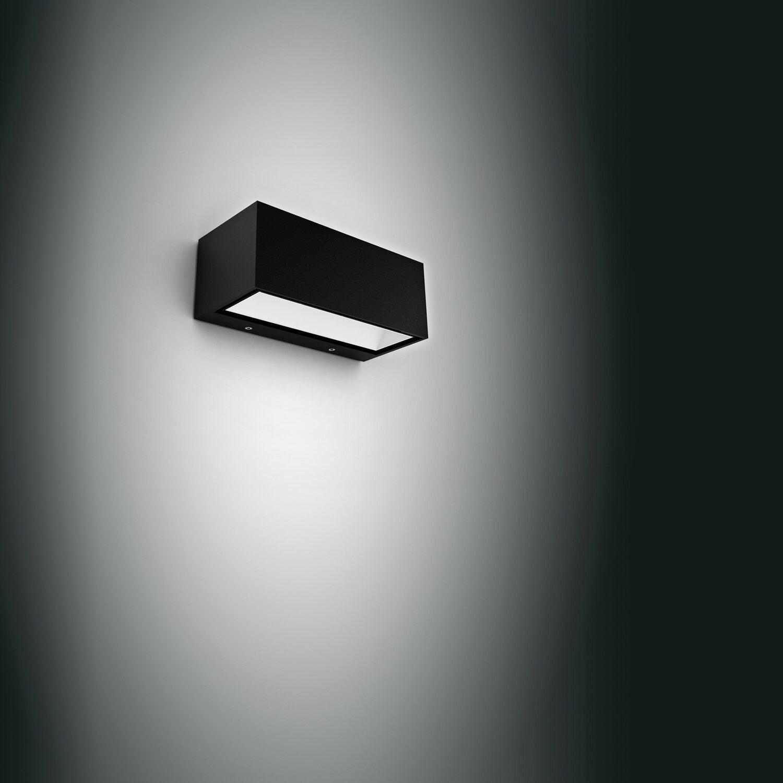 Sehr Lutec LED-Außenwandleuchte Gemini M Anthrazit EEK: A+ kaufen bei OBI HW87