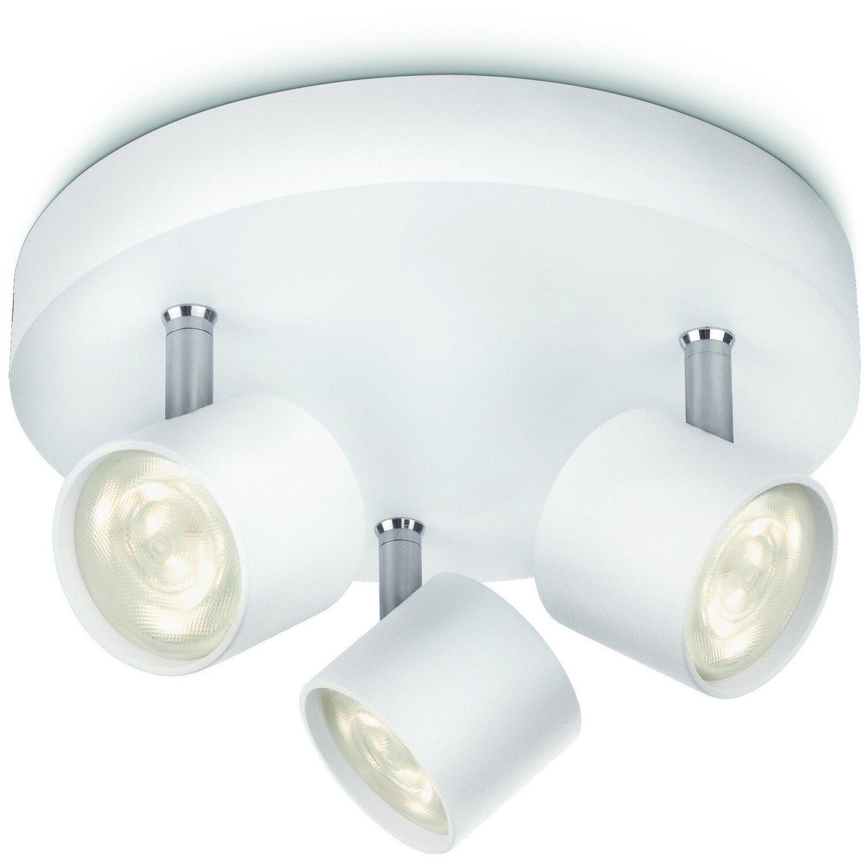 Philips LED-Spot 3er Star Weiß EEK: A++