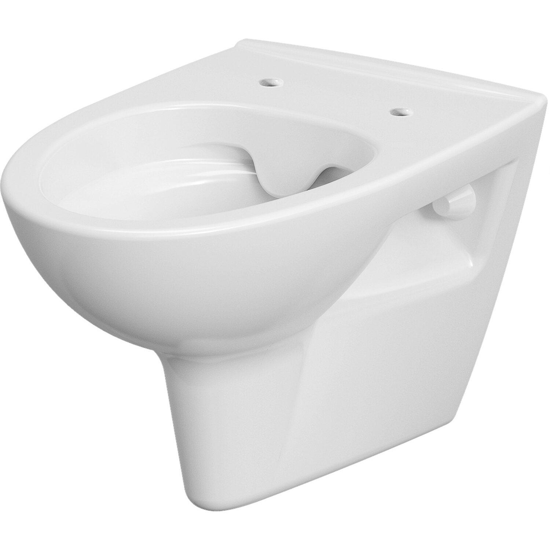 sanicomfort wand wc pure tiefsp ler abgang waagerecht sp lrandlos wei kaufen bei obi. Black Bedroom Furniture Sets. Home Design Ideas