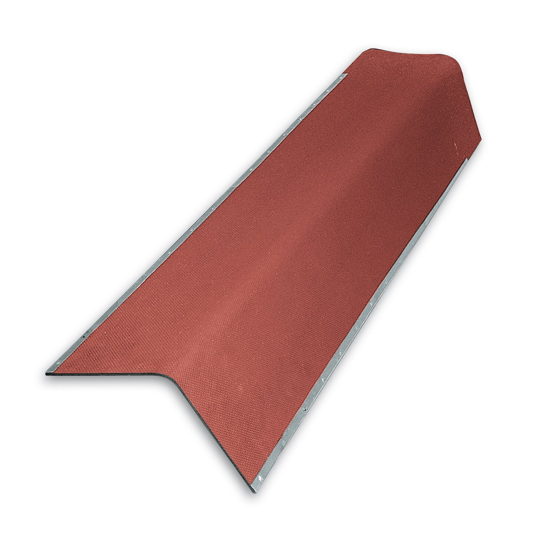 Gutta Bitumenwellplatten Giebelwinkel Rot 105 cm x 25 cm
