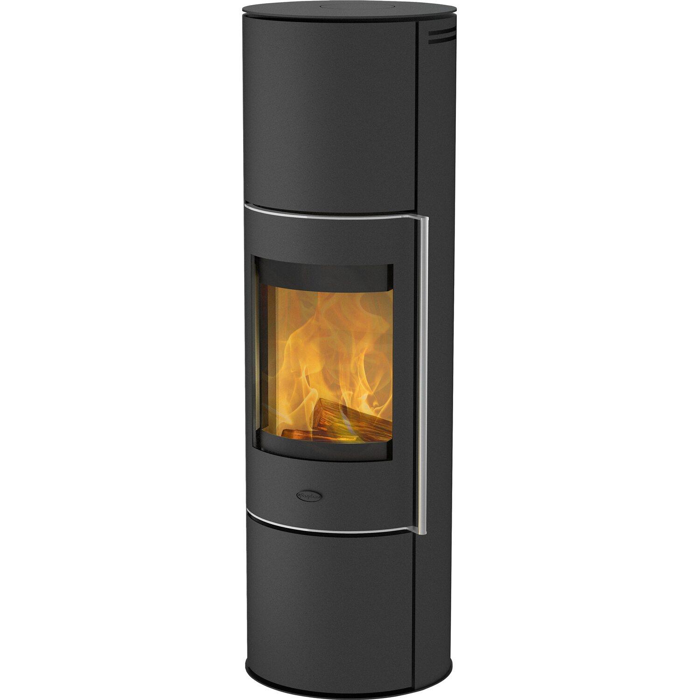 AuBergewohnlich Fireplace Wasserführender Kaminofen Trondol Schwarz EEK: A+