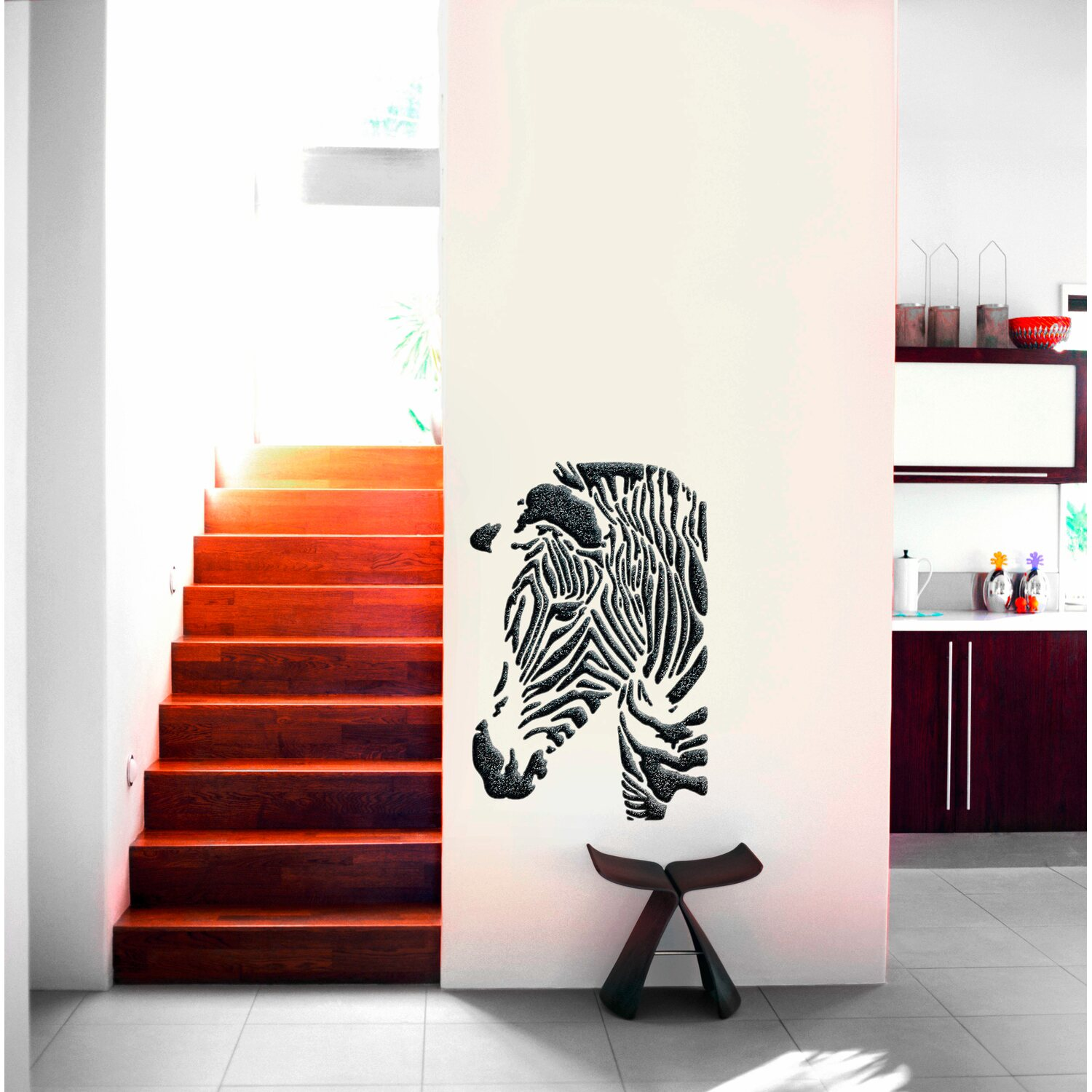 marabu schablone 40 x 66 cm zebra kaufen bei obi. Black Bedroom Furniture Sets. Home Design Ideas