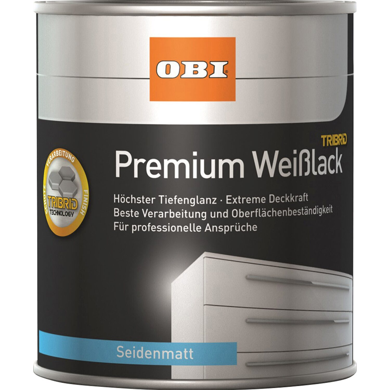 Obi Premium Weisslack Tribrid Seidenmatt Weiss Kaufen Bei Obi
