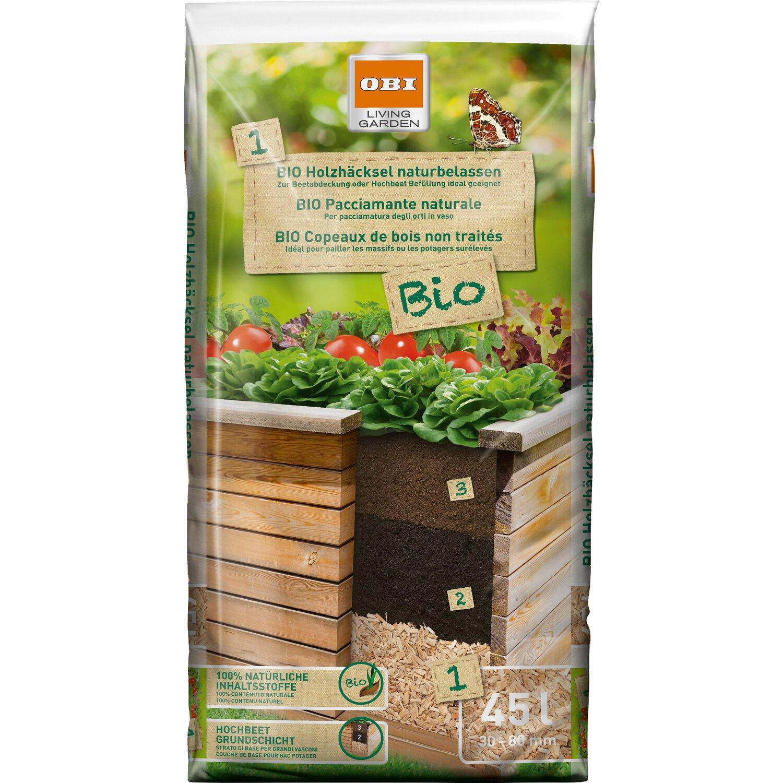 Lieblings OBI Holzhäcksel Bio Naturbelassen 1 x 45 l kaufen bei OBI @CY_73