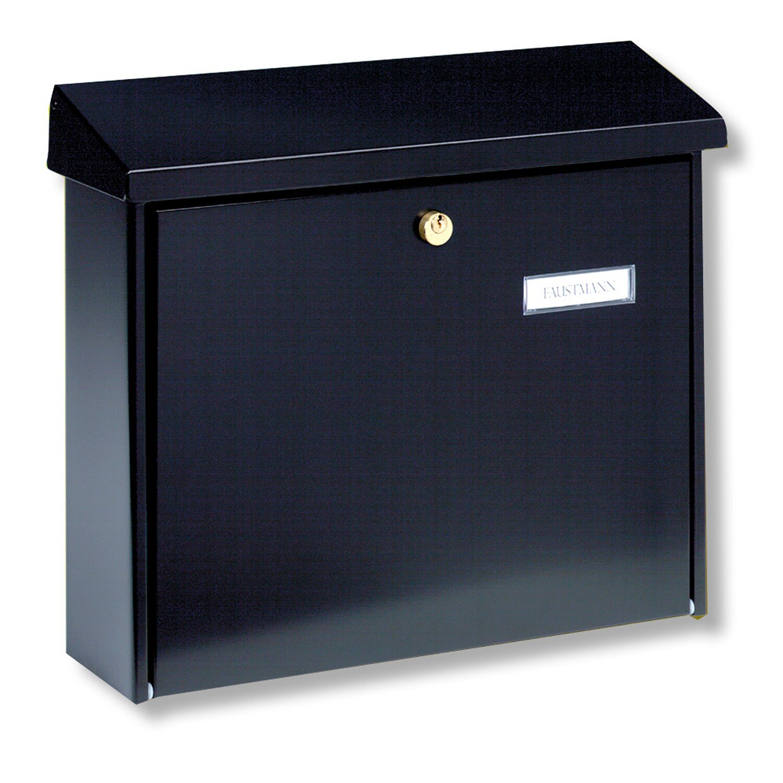 burg w chter briefkasten amsterdam 867 schwarz kaufen bei obi. Black Bedroom Furniture Sets. Home Design Ideas