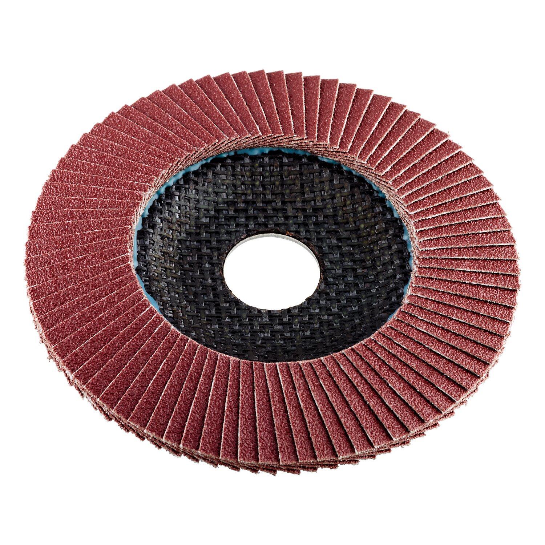 LUX Fächerschleifer 115 mm x 22,23 mm K60   Baumarkt > Werkzeug > Fräsen und Schleifer   LUX-TOOLS
