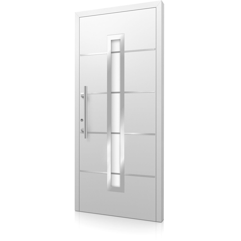 aluminium haust r moderno m420 b 110 x 210 cm wei. Black Bedroom Furniture Sets. Home Design Ideas