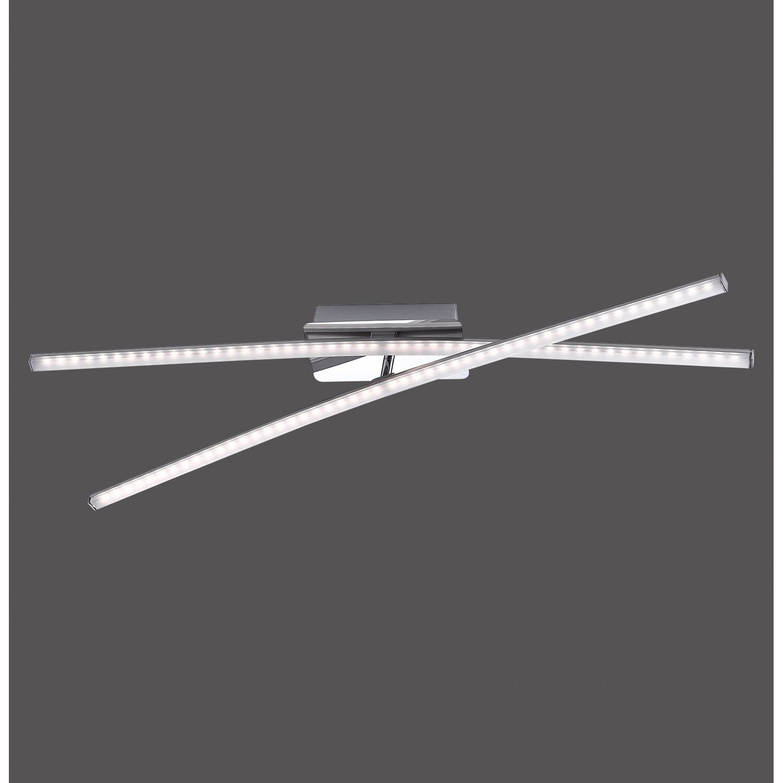 LED-Deckenleuchte Simon 2-flammig 80,5 cm Stahl EEK: A+ | Lampen > Deckenleuchten > Deckenlampen