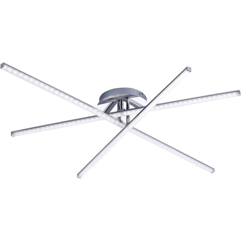 LED-Deckenleuchte Simon 3-flammig 80,5 cm Stahl EEK: A+ kaufen bei OBI