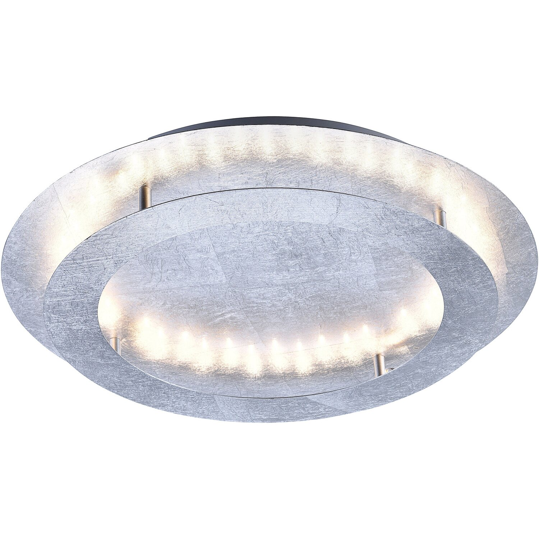 Paul Neuhaus LED-Deckenleuchte Nevis Silber Ø 50 cm EEK: B kaufen ...