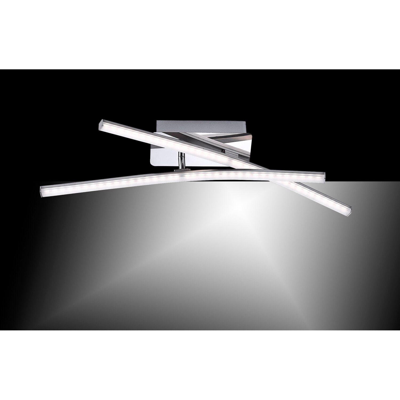 LED-Deckenleuchte Simon 2-flammig 51 cm Stahl EEK: A+ kaufen bei OBI