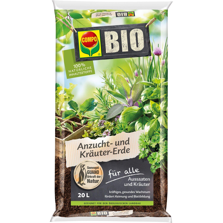 Compo  Bio Anzucht- und Kräutererde 1 x 20 l