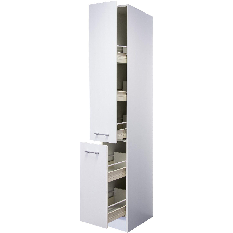 Flex-Well Classic Apotheker-Hochschrank Lucca 30 cm Weiß
