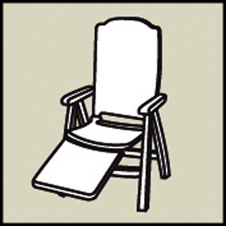 relax liegestuhl auflage selection line dessin 1233 kaufen bei obi. Black Bedroom Furniture Sets. Home Design Ideas