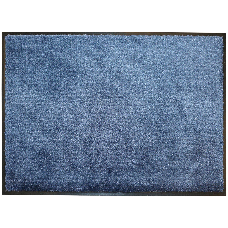 sch ner wohnen sauberlaufmatte miami 50 cm x 70 cm dunkelblau kaufen bei obi. Black Bedroom Furniture Sets. Home Design Ideas
