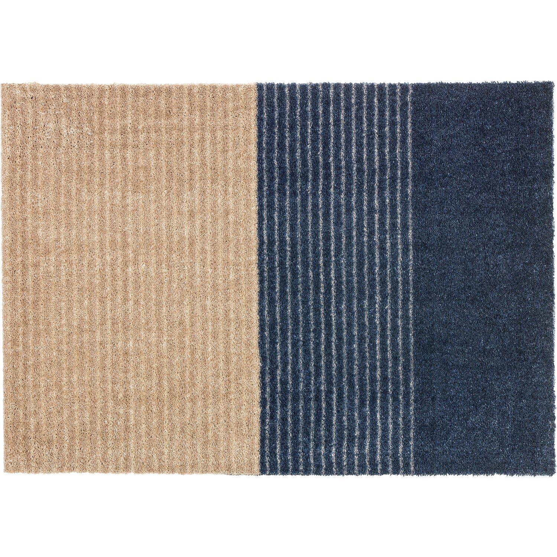 sch ner wohnen sauberlaufmatte manhattan 50 cm x 70 cm streifen dunkelblau kaufen bei obi. Black Bedroom Furniture Sets. Home Design Ideas