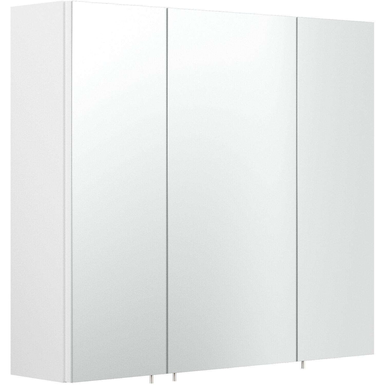 Posseik Spiegelschrank Multi-Use 11 cm x 11 cm Weiß