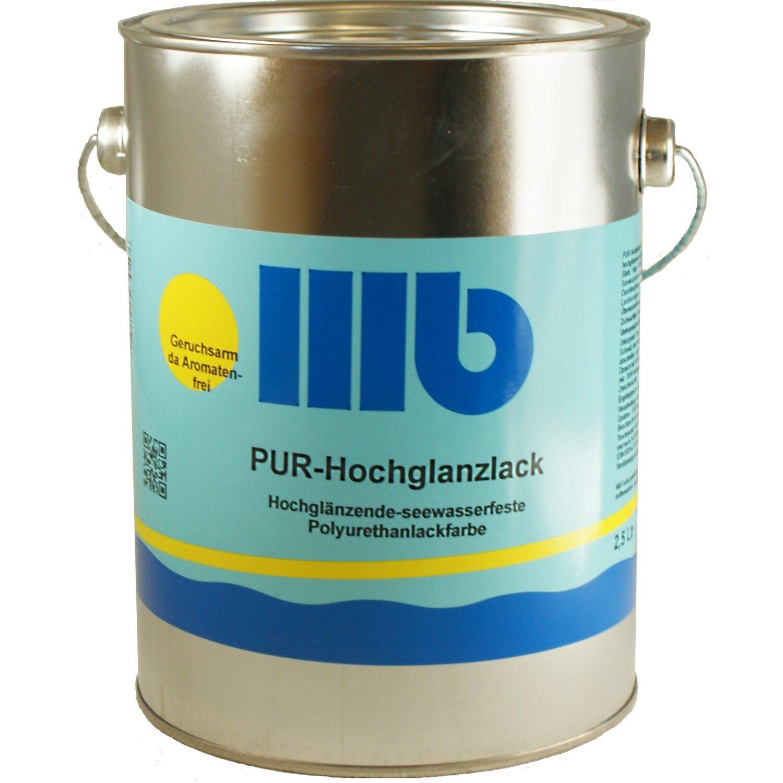 Berühmt Wohlert PUR Hochglanzlack Weiß 2,5 l kaufen bei OBI YL15