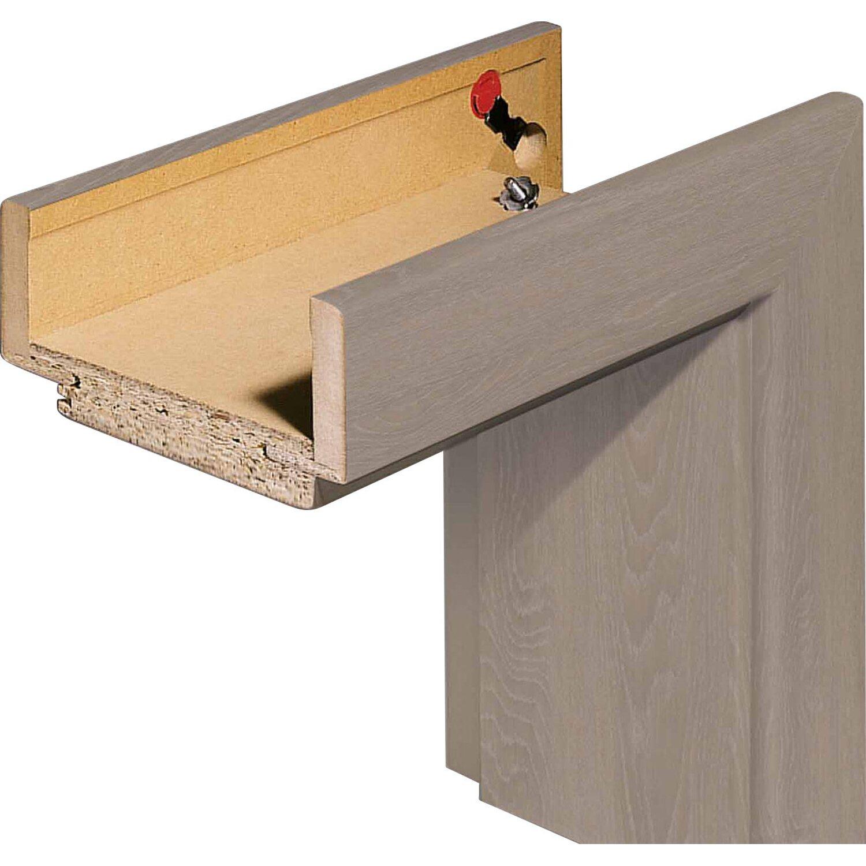 online retailer e9304 4ae91 Zarge CPL Eiche Basalt Holznachbildung 61 cm x 198,5 cm x 9 cm Anschlag L