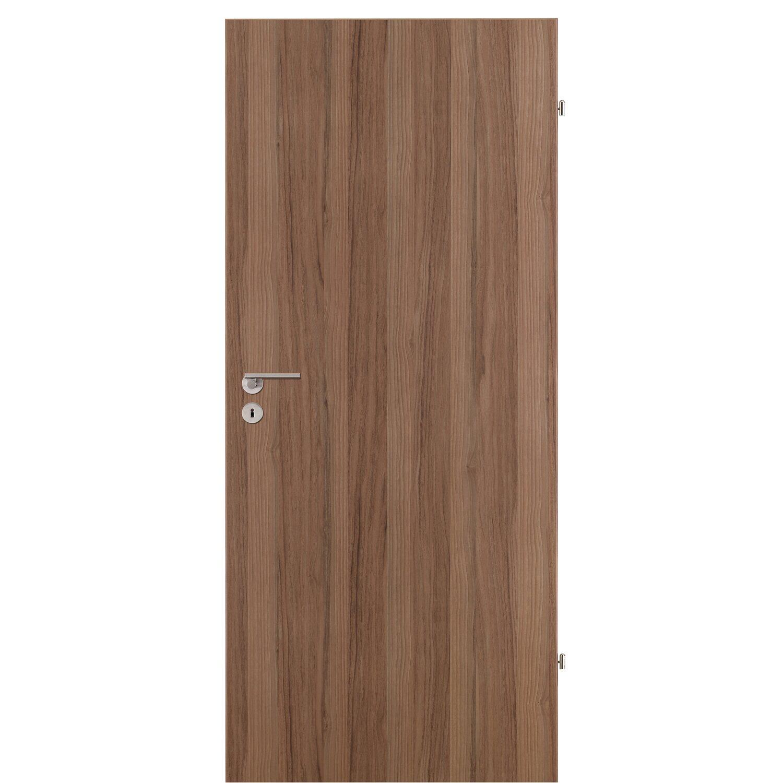 zimmert r cpl nussbaum 86 cm x 198 5 cm anschlag rechts kaufen bei obi. Black Bedroom Furniture Sets. Home Design Ideas