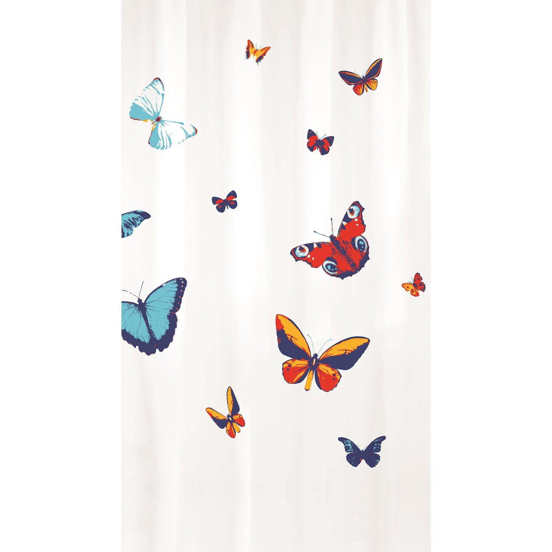 KLEINE WOLKE Duschvorhang Textil Alice Taupe  180 x 200 cm  TOPP Angebot
