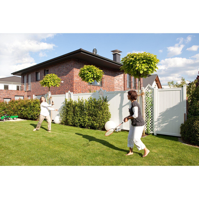 Sichtschutzzaun Element Longlife Riva Weiss 180 Cm X 180 Cm Kaufen