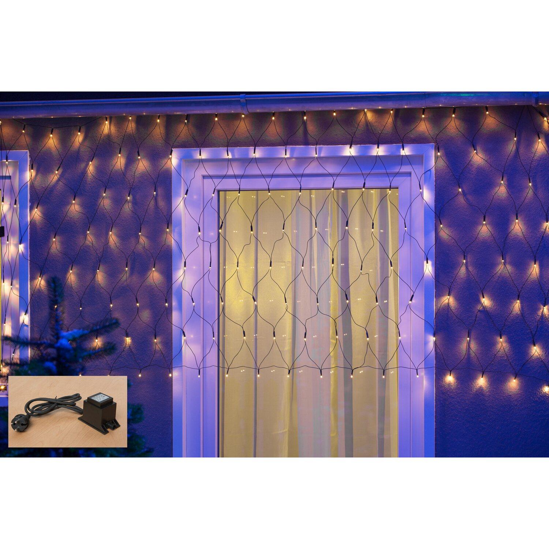 Weihnachtsbeleuchtung Innen Obi.Lichternetz System 1000 Starterset 5 200 Warmweiße Leds Innen Und