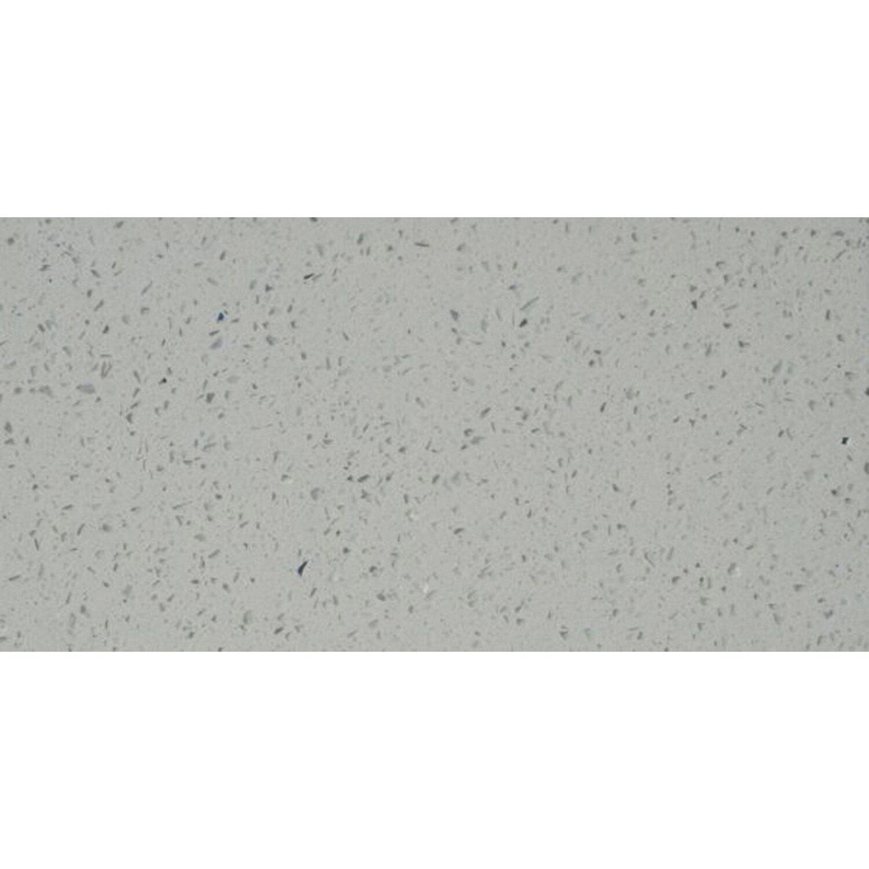 Sonstige Bodenfliese Quarzkomposit Weiß 30 cm x 60 cm