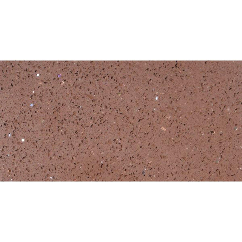 Sonstige Bodenfliese Quarzkomposit Braun 30 cm x 60 cm