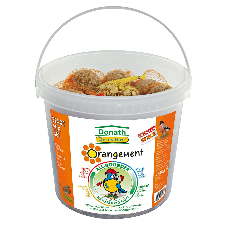 Donath  Berny Bird Orangement Start-Mix-Set Eimer 3 kg