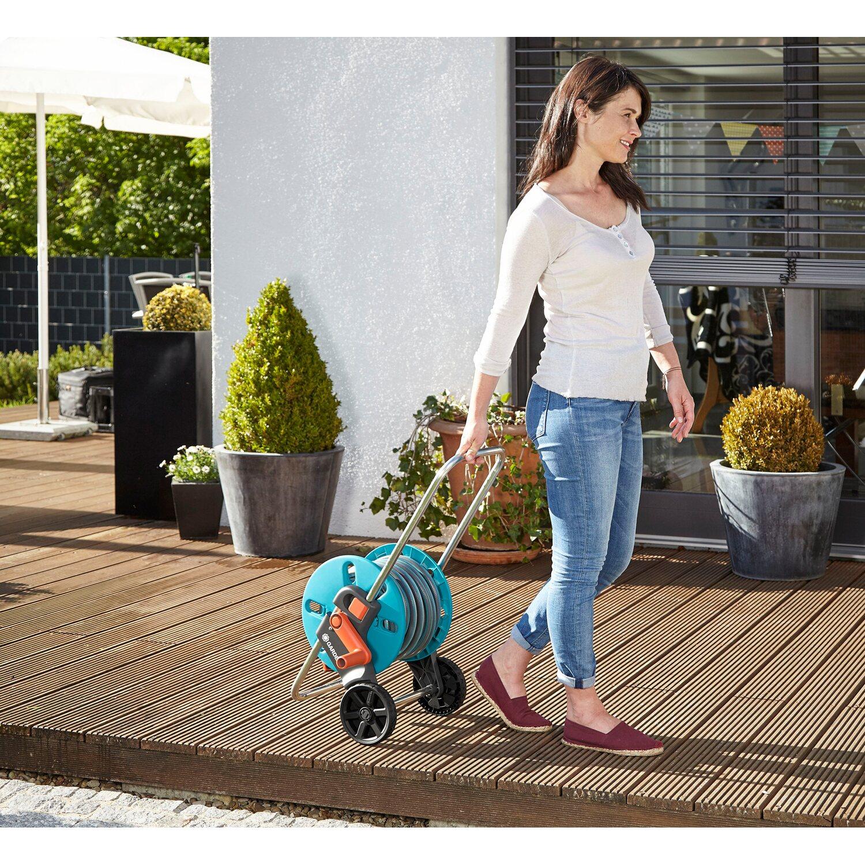 gardena schlauchwagen set aqua roll s inkl 20 m classic. Black Bedroom Furniture Sets. Home Design Ideas