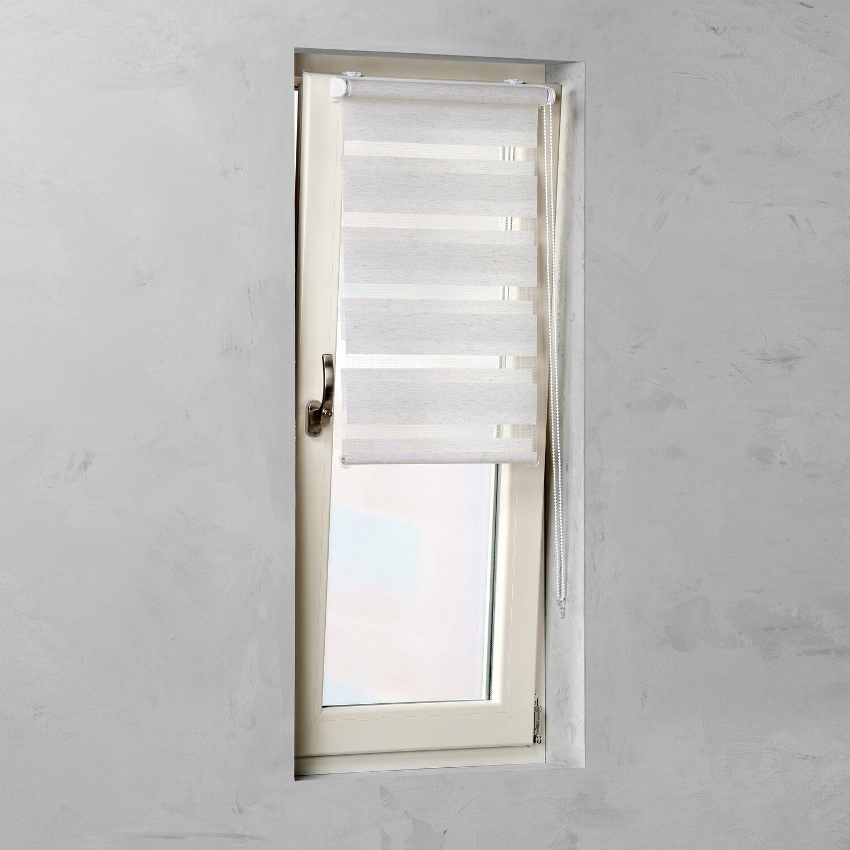 Sehr Cocoon Easy Fix Doppelrollo Tageslicht Leinen 45 cm x 150 cm ZP25