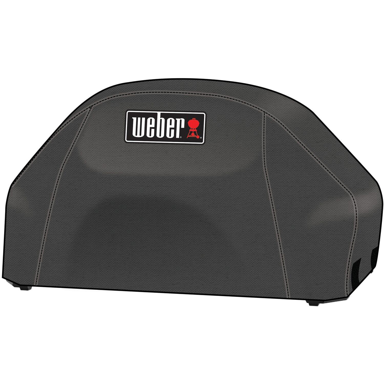 weber premium abdeckhaube f r weber pulse 2000 schwarz kaufen bei obi. Black Bedroom Furniture Sets. Home Design Ideas