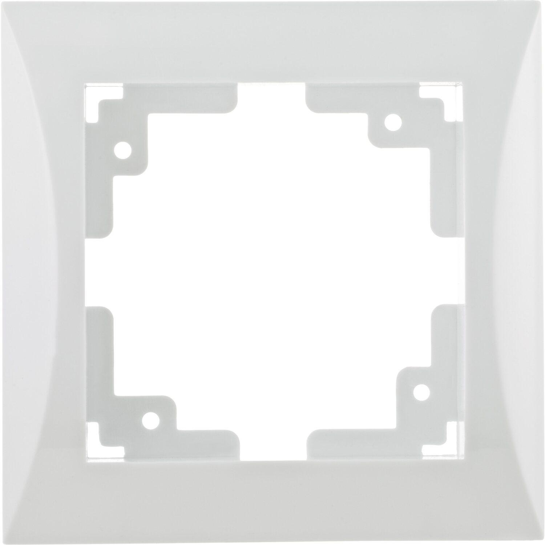 OBI Abdeckrahmen Ariane 1-fach Polarweiß