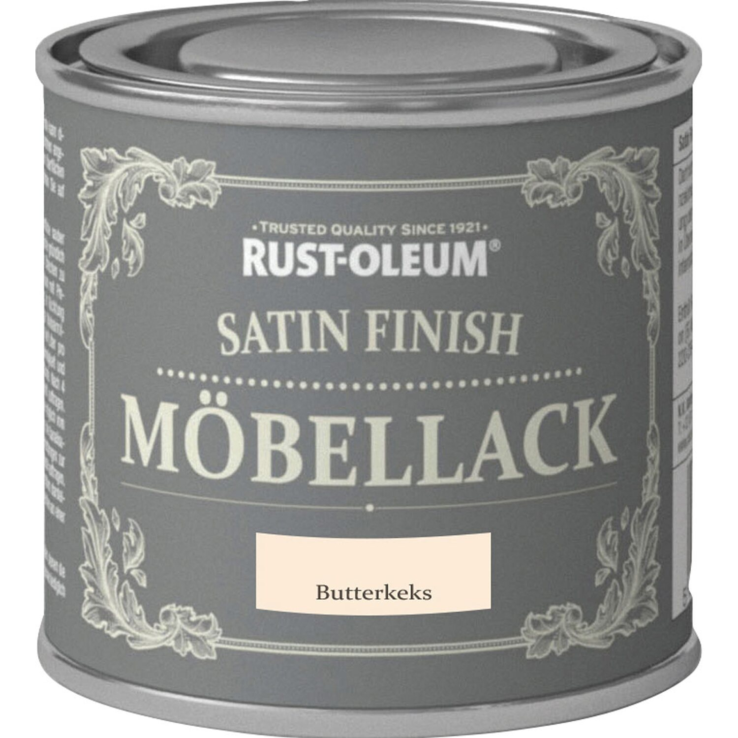 rust oleum kreidefarbe m bellack satin finish butterkeks seidengl nzend 125 ml kaufen bei obi. Black Bedroom Furniture Sets. Home Design Ideas