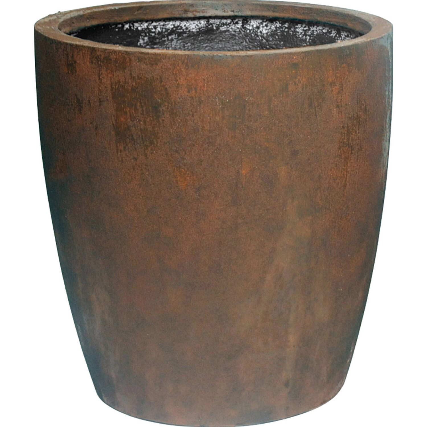 M Collections Pflanztopf Egg Pot Hoch O 50 Cm Rost Kaufen Bei Obi