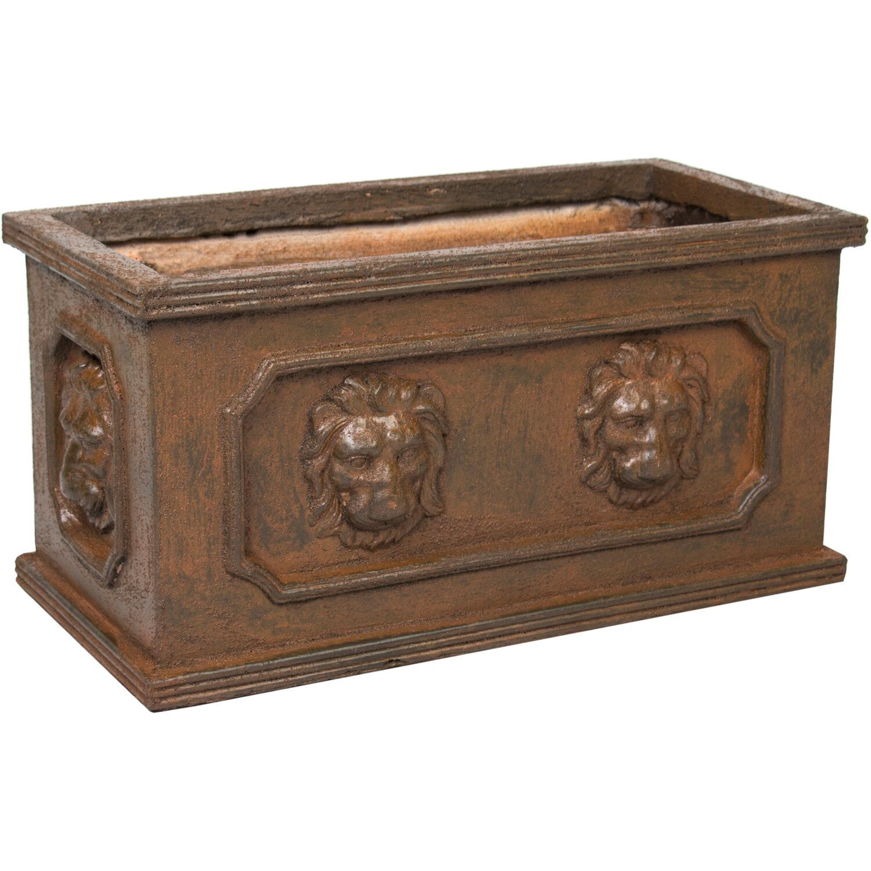 m collections pflanzkasten bigular l we 60 cm x 30 cm rost kaufen bei obi. Black Bedroom Furniture Sets. Home Design Ideas