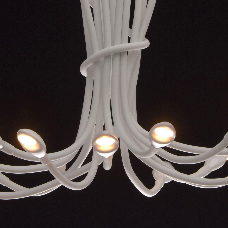 RegenBogen LED-Deckenleuchte Siegen 15-flammig Weiß EEK: A-A++ ...