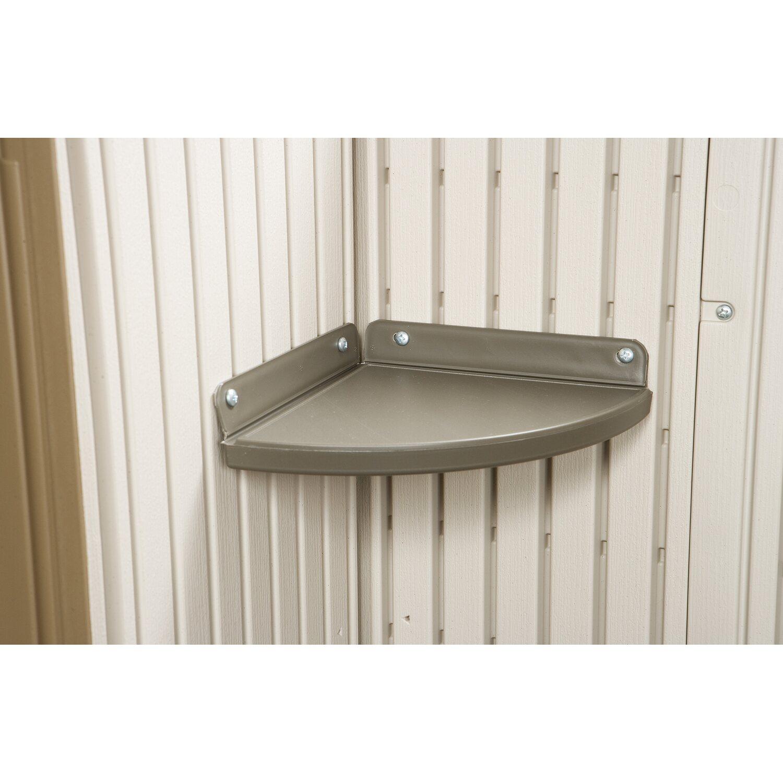 lifetime eckregal f r ger tehaus aus kunststoff anthrazit kaufen bei obi. Black Bedroom Furniture Sets. Home Design Ideas