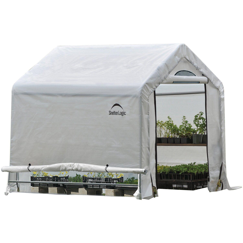 ShelterLogic Foliengewächshaus 3,24 m² 180 cm x 180 cm | Garten > Gewächshäuser | Shelter Logic