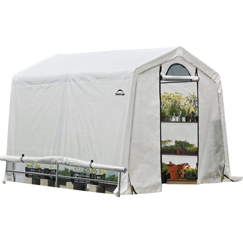 Shelterlogic Foliengewachshaus 5 76 M 240 Cm X 240 Cm Kaufen Bei Obi