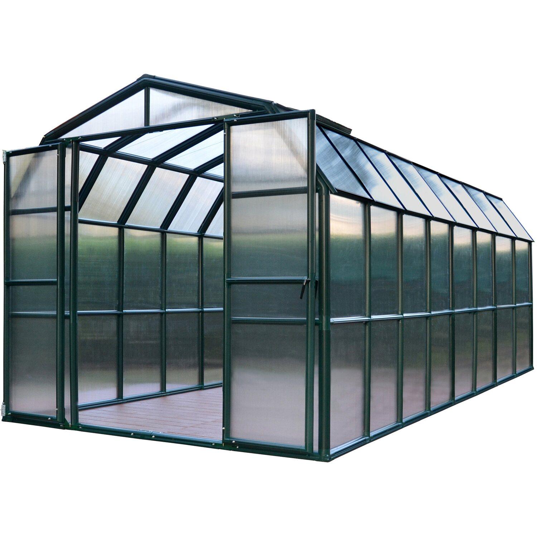 rion kunststoff gew chshaus grand gardener 48 267 cm x 514. Black Bedroom Furniture Sets. Home Design Ideas