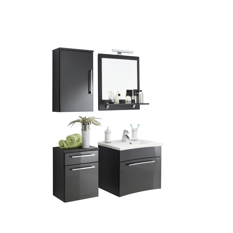posseik spiegel 60 cm laonda anthrazit eek a kaufen bei obi. Black Bedroom Furniture Sets. Home Design Ideas